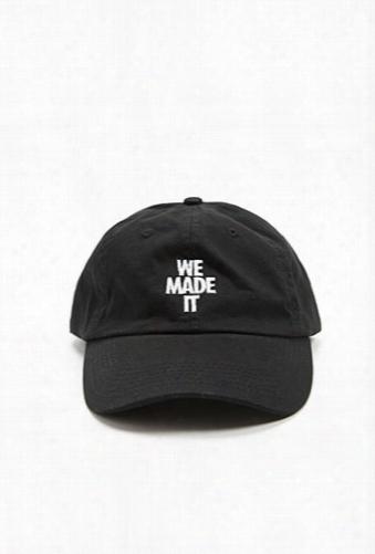 Hat Beast We Made It Dad Cap