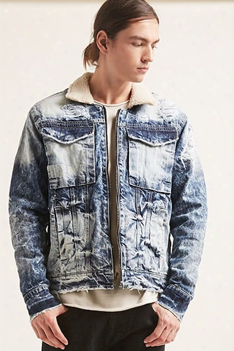 Jordan Craig Sherpa-lined Denim Jacket
