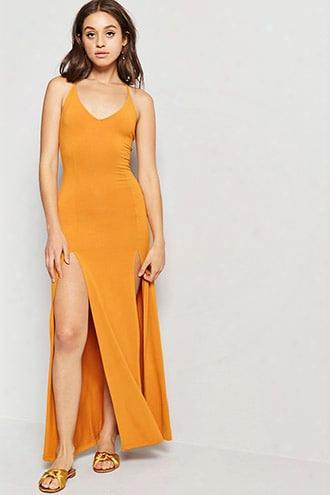 M-slit Cami Maxi Dress