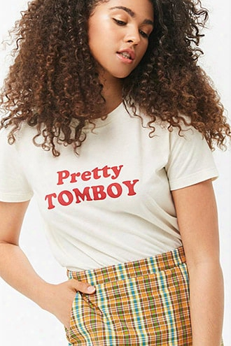 Pretty Tomboy Graphic Tee