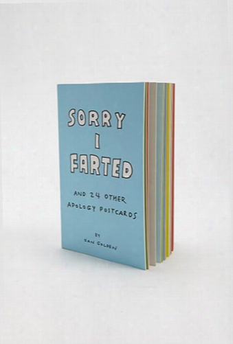 Sorry I Farted And 24 Other Apology Cards By Dan Golden