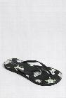 Floral Print Flip Flops