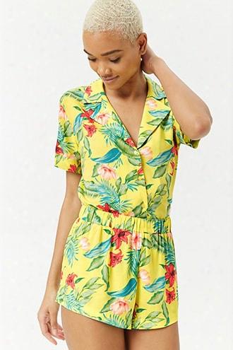 Tropical Hawaiian Shorts