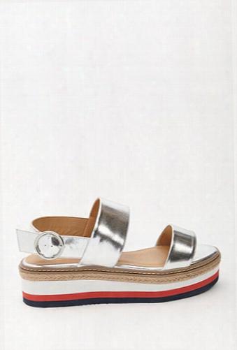 Banded Platform Sandal