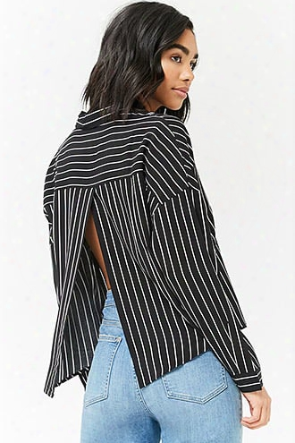 Boxy Striped Shirt