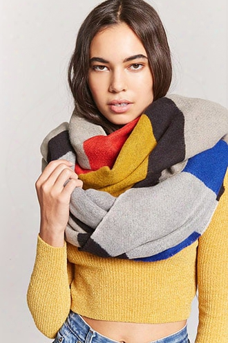 Colorblocked Oblong Scarf