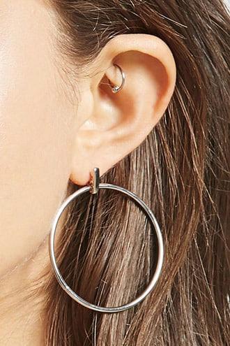 Geo Doorknocker Earrings