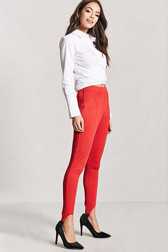 Pintucked Stirrup Leggings