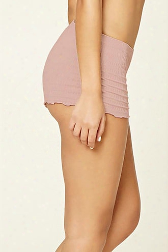 Smocked Seamless Shortie Panty
