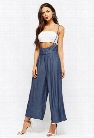 Chambray Suspender Culottes
