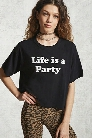 Life Is A Party Graphic Tee