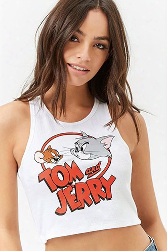 Tom And Jerry Tank Top