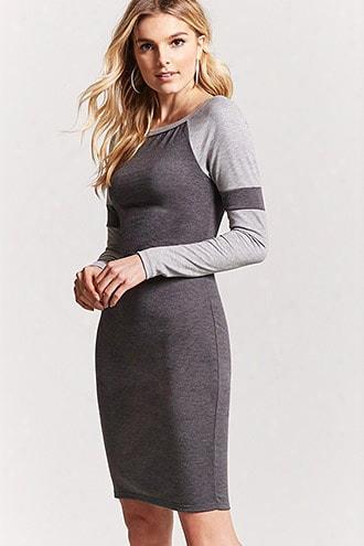 Varsity Stripe Midi Dress