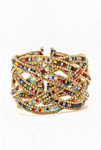 Bead Braided Cuff