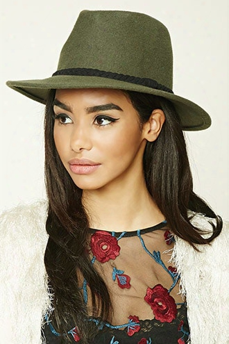 Braided Wool Fedora