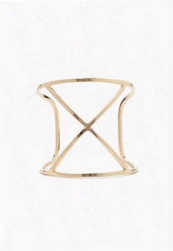 Crisscross Cutout Cuff