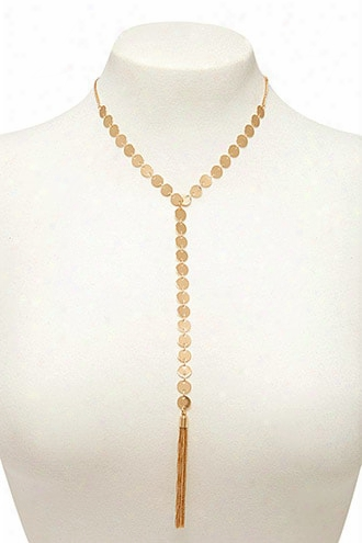 Drop-chain Disc Choker