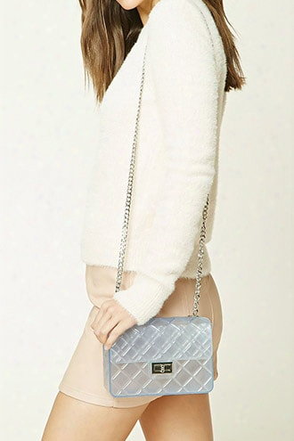Jelly Quilted Crossbody Bag
