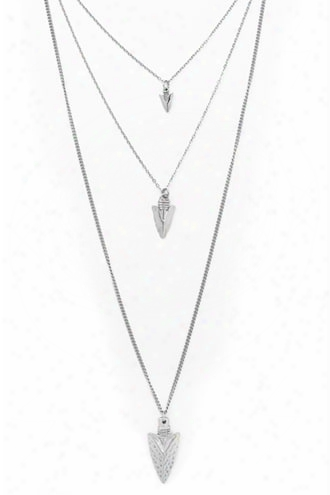 Layered Arrow Necklace