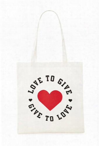 Love To Give Canvas Eco Tote