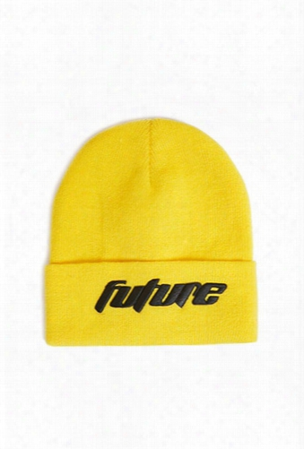 Men Future Graphic Beanie