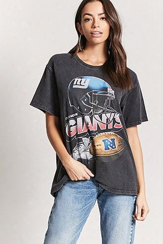 Nfl New York Giants Faded Tee