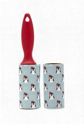 Penguin Print Lint Roller Set