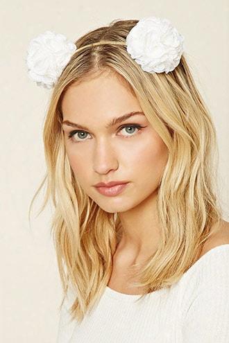 Rose Embellished Headband