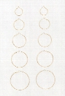 Assorted Hoop Earring Set