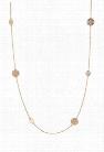 Etched Pendant Necklace