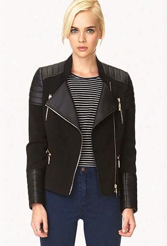 Moto Babe Faux Leather Jacket