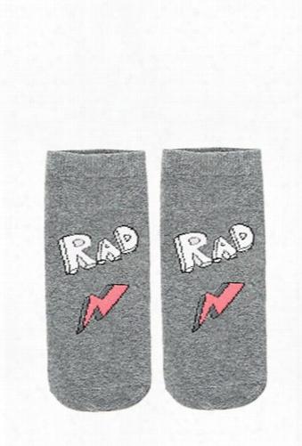Rad Lightening Ankle Socks
