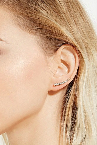 Rhinestone Ear Pin Set