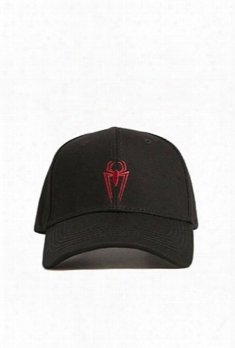 Spiderman Logo Graphic Snapback Hat