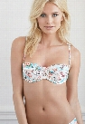 Tropical Postcard Underwire Bikini Top