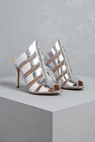 Daya By Zendaya Metallic Heels