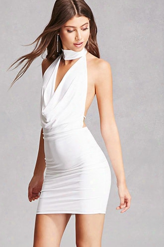 Draped Bodycon Dress