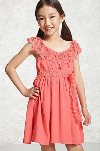 Girls Soieblu Flounce Dress (kids)