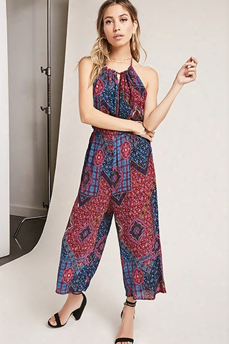 I The Wild Abstract Jumpsuit