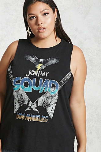 Plus Size Squad Muscle Tee