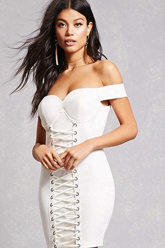 Sweetheart Crisscross Dress