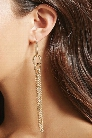 Detaching Tassel Duster Earrings
