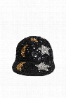 Moon & Star Sequin Duckbill Cap