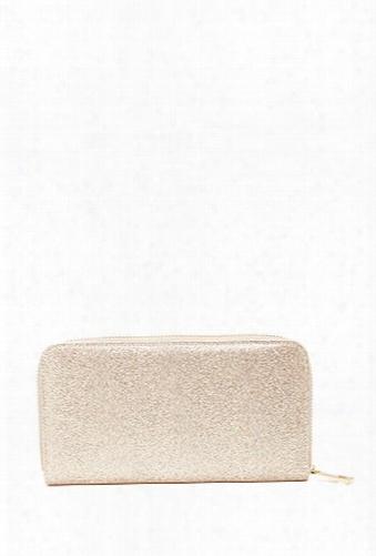 Glitter Zipper Wallet
