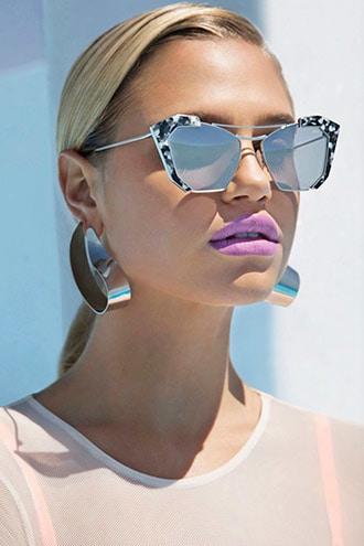 Melt Butterfly Cat Eye Sunglasses
