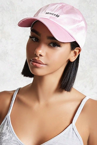 Satin Princess Baseball Cap