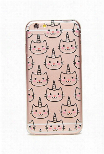 Unicorn-cat Case For Iphone 6/6s/7/8