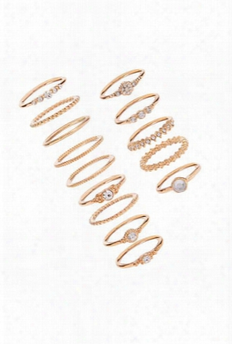 Assorted Stackable Ring Set