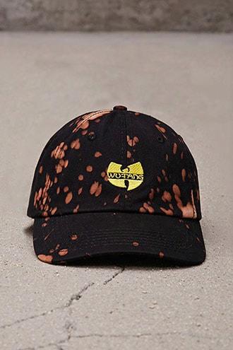 Bleach-dye Wu-tang Hat