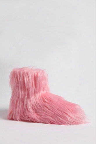 Faux Fur Indoor Boots